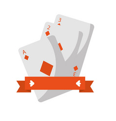 french playing cards related icon icon image vector image