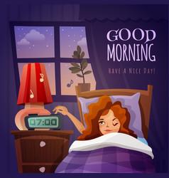 Good morning design composition vector
