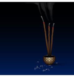 Meditation background vector