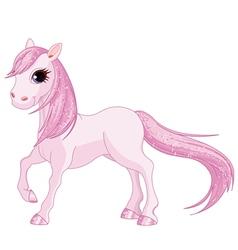 Pink Horse vector