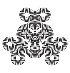 seamless pattern geometric wallpaper vector image