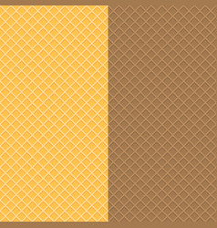 waffle-textures vector image