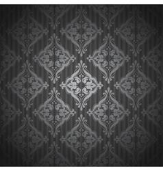 Damascus pattern Seamless vintage background vector image
