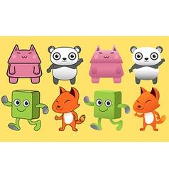 Gang Animal Monster vector image