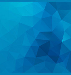 blue shiny triangle background design vector image vector image