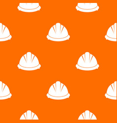 construction helmet pattern seamless vector image vector image