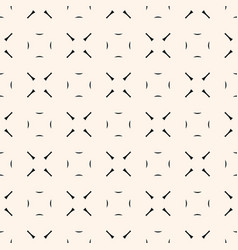 abstract minimalist geometric seamless pattern vector image