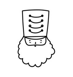 merry christmas celebration nutcracker soldier vector image