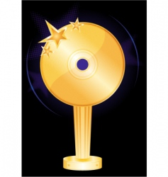 music award vector image