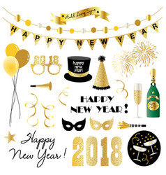 New years eve clipart vector
