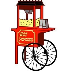 Popcorn Machine vector image