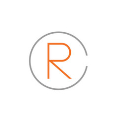 Rc logo vector