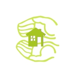 save home concept vector image