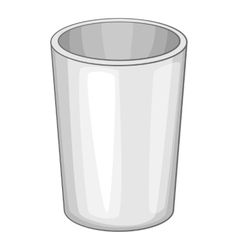Container icon cartoon style vector image
