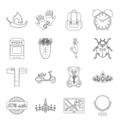 cooking traveling medicine and other web icon in vector image vector image