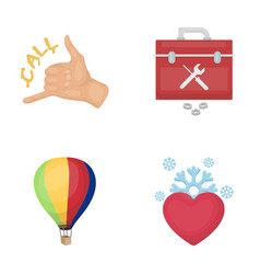 not love holiday business and other web icon in vector image vector image