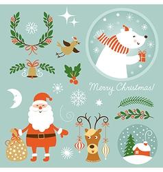 Christmas Clip Art vector image vector image