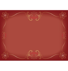 Day of Valentine background vector image