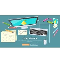 Logo Design Concept vector image vector image
