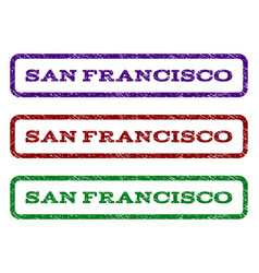 San francisco watermark stamp vector