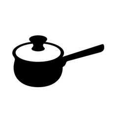 saucepan vector image vector image