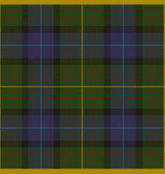 California state tartan plaid vector