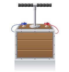 Detonating fuse vector
