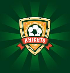football color logo template vector image