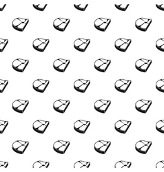 Piece of steak pattern simple style vector image