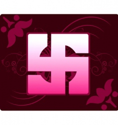 swastika vector image