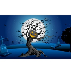 Haunted Tree vector image vector image