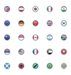 Special Country flags vector image