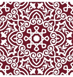 Abstract arabic or persian seamless ornament vector image