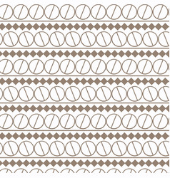 abstract retro geometric simple design pattern vector image