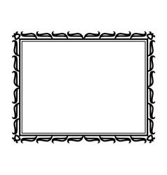 abstract tulip ornamental vector image vector image