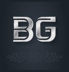 bg - international 2-letter code bulgaria vector image