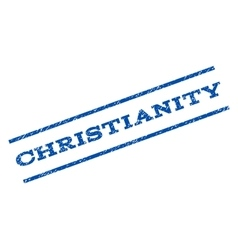 Christianity Watermark Stamp vector