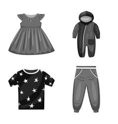 Cloth and apparel symbol vector