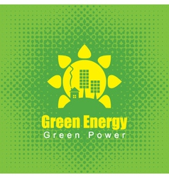 green Energy vector image