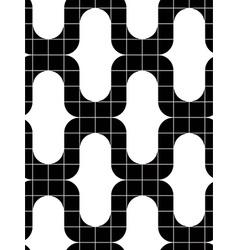 Ornate tiles seamless pattern geometric background vector