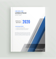 professional business brochure design with vector image