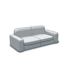 Sofa or couch vector image