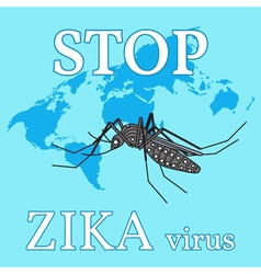 Stop zika virus vector