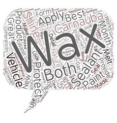 Why Wax When You Can Seal text background vector image vector image