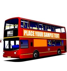 al 1003 city bus vector image vector image