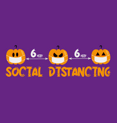 6 feet social distancing - covid-19 infographic vector
