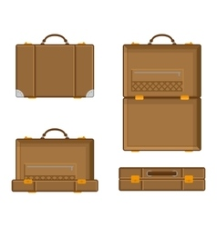 a suitcase vector image