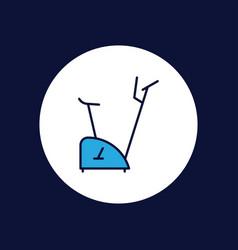 exercise bike icon sign symol vector image
