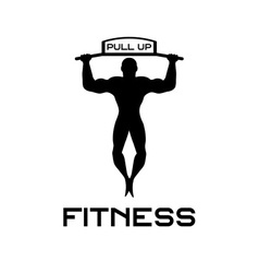 fitness pull up bands vector image