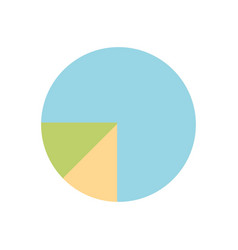 statistic bar to presentation the business vector image